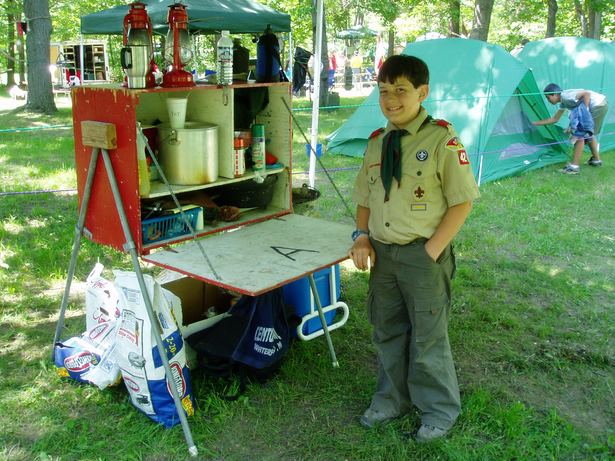 Patrol chuck box plans for Wooden camp kitchen designs
